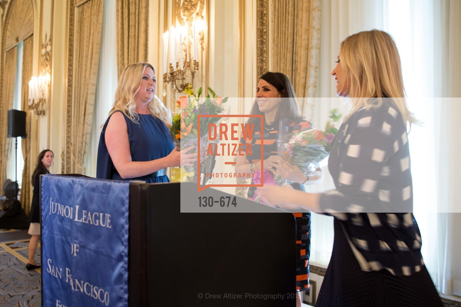 Jennifer Kurrie, Lisa Grotts, Jane Inch, Junior League of San Francisco's WATCH Luncheon, Fairmont Hotel. 950 Mason Street, May 4th, 2015,Drew Altizer, Drew Altizer Photography, full-service agency, private events, San Francisco photographer, photographer california
