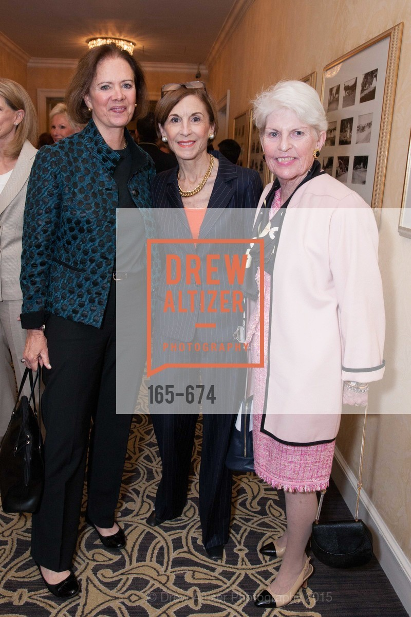 Kaki DeSautels, Marsha Monro, Margaret Ames, Junior League of San Francisco's WATCH Luncheon, Fairmont Hotel. 950 Mason Street, May 4th, 2015,Drew Altizer, Drew Altizer Photography, full-service agency, private events, San Francisco photographer, photographer california