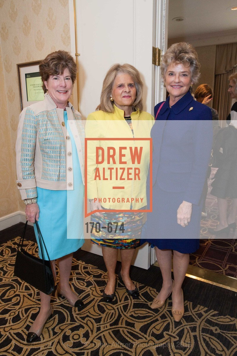 Muriel Wilson, Mary Jo Westwater, Diane Barkley, Junior League of San Francisco's WATCH Luncheon, Fairmont Hotel. 950 Mason Street, May 4th, 2015,Drew Altizer, Drew Altizer Photography, full-service agency, private events, San Francisco photographer, photographer california