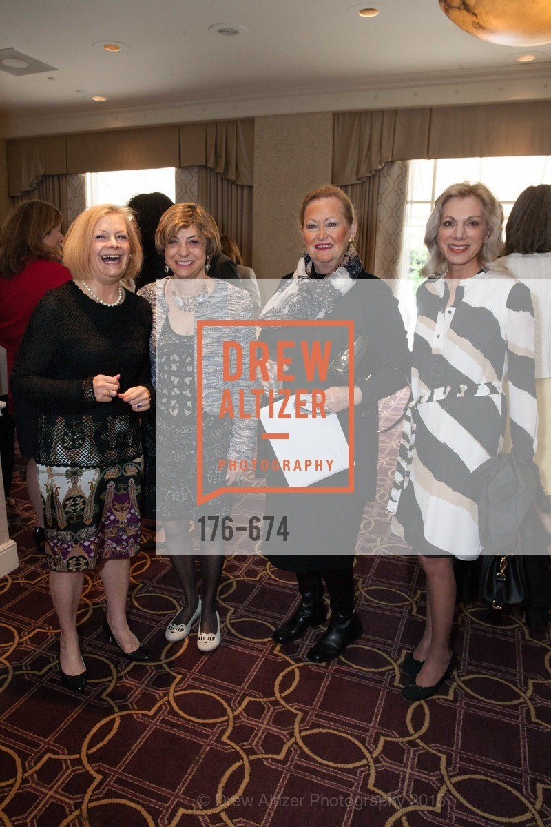 Laine Buckingham, Ludmila Eggleston, Mary Hagan, Cynthia Schreuder, Junior League of San Francisco's WATCH Luncheon, Fairmont Hotel. 950 Mason Street, May 4th, 2015,Drew Altizer, Drew Altizer Photography, full-service agency, private events, San Francisco photographer, photographer california