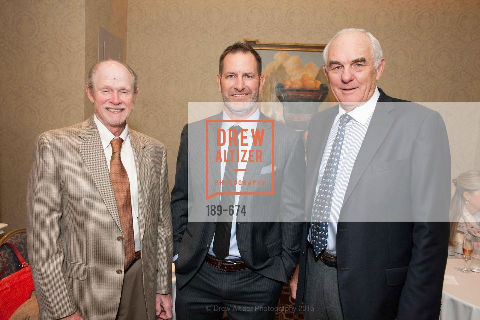 Dick Otstott, Mark Tatum, Mike Fehr, Junior League of San Francisco's WATCH Luncheon, Fairmont Hotel. 950 Mason Street, May 4th, 2015,Drew Altizer, Drew Altizer Photography, full-service agency, private events, San Francisco photographer, photographer california