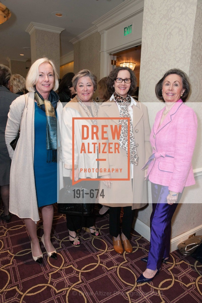 Janet Higgins, Susan Gearey, Leslie Tognazzini, Pat Smith, Junior League of San Francisco's WATCH Luncheon, Fairmont Hotel. 950 Mason Street, May 4th, 2015,Drew Altizer, Drew Altizer Photography, full-service agency, private events, San Francisco photographer, photographer california