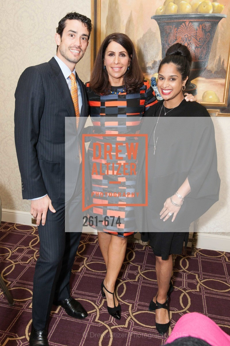 Federico Soldino, Lisa Grotts, Sonia Mondkar-Floyd, Junior League of San Francisco's WATCH Luncheon, Fairmont Hotel. 950 Mason Street, May 4th, 2015,Drew Altizer, Drew Altizer Photography, full-service agency, private events, San Francisco photographer, photographer california
