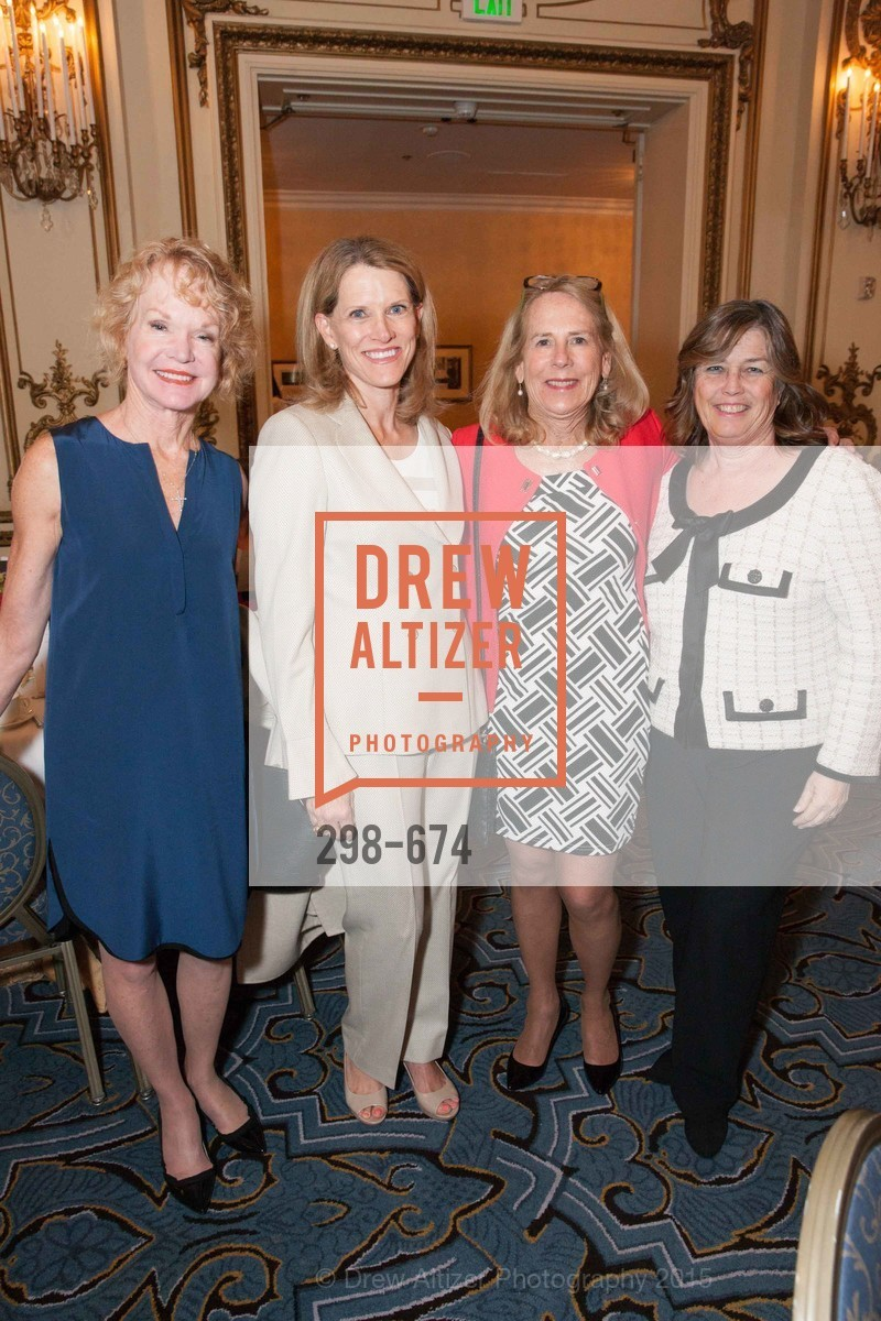 Lynn Lubbock, Judy LeMarr, Betsy Coover, Carolyn Squeri, Junior League of San Francisco's WATCH Luncheon, Fairmont Hotel. 950 Mason Street, May 4th, 2015,Drew Altizer, Drew Altizer Photography, full-service agency, private events, San Francisco photographer, photographer california