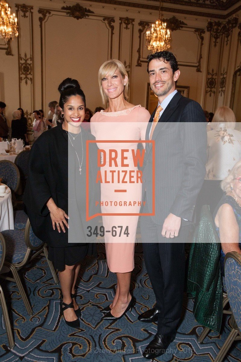 Sonia Mondkar-Floyd, Janet Reilly, Frederico Soldino, Junior League of San Francisco's WATCH Luncheon, Fairmont Hotel. 950 Mason Street, May 4th, 2015,Drew Altizer, Drew Altizer Photography, full-service agency, private events, San Francisco photographer, photographer california
