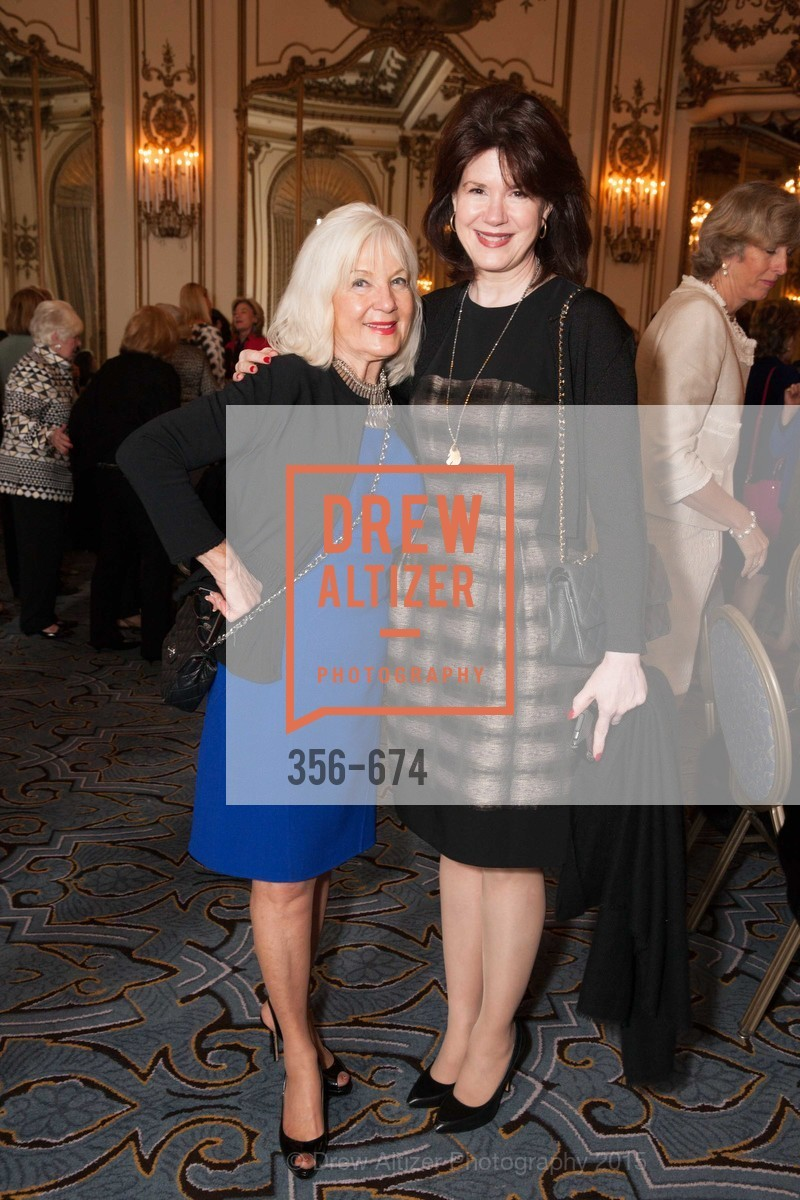 Arlene Inch, Elaine Mellis, Junior League of San Francisco's WATCH Luncheon, Fairmont Hotel. 950 Mason Street, May 4th, 2015,Drew Altizer, Drew Altizer Photography, full-service event agency, private events, San Francisco photographer, photographer California