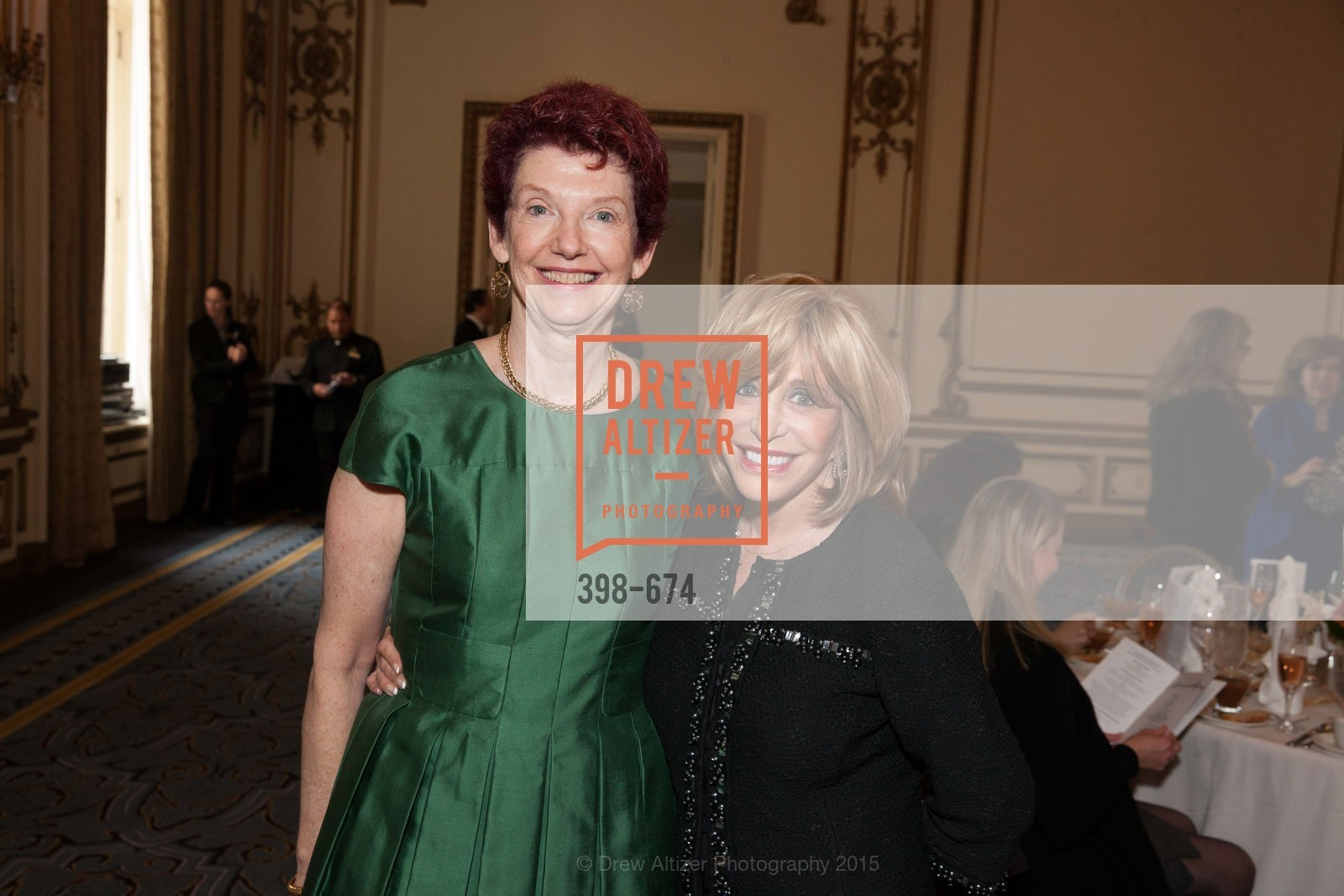 Susie Hoganson, Esty Lawrie, Junior League of San Francisco's WATCH Luncheon, Fairmont Hotel. 950 Mason Street, May 4th, 2015,Drew Altizer, Drew Altizer Photography, full-service agency, private events, San Francisco photographer, photographer california
