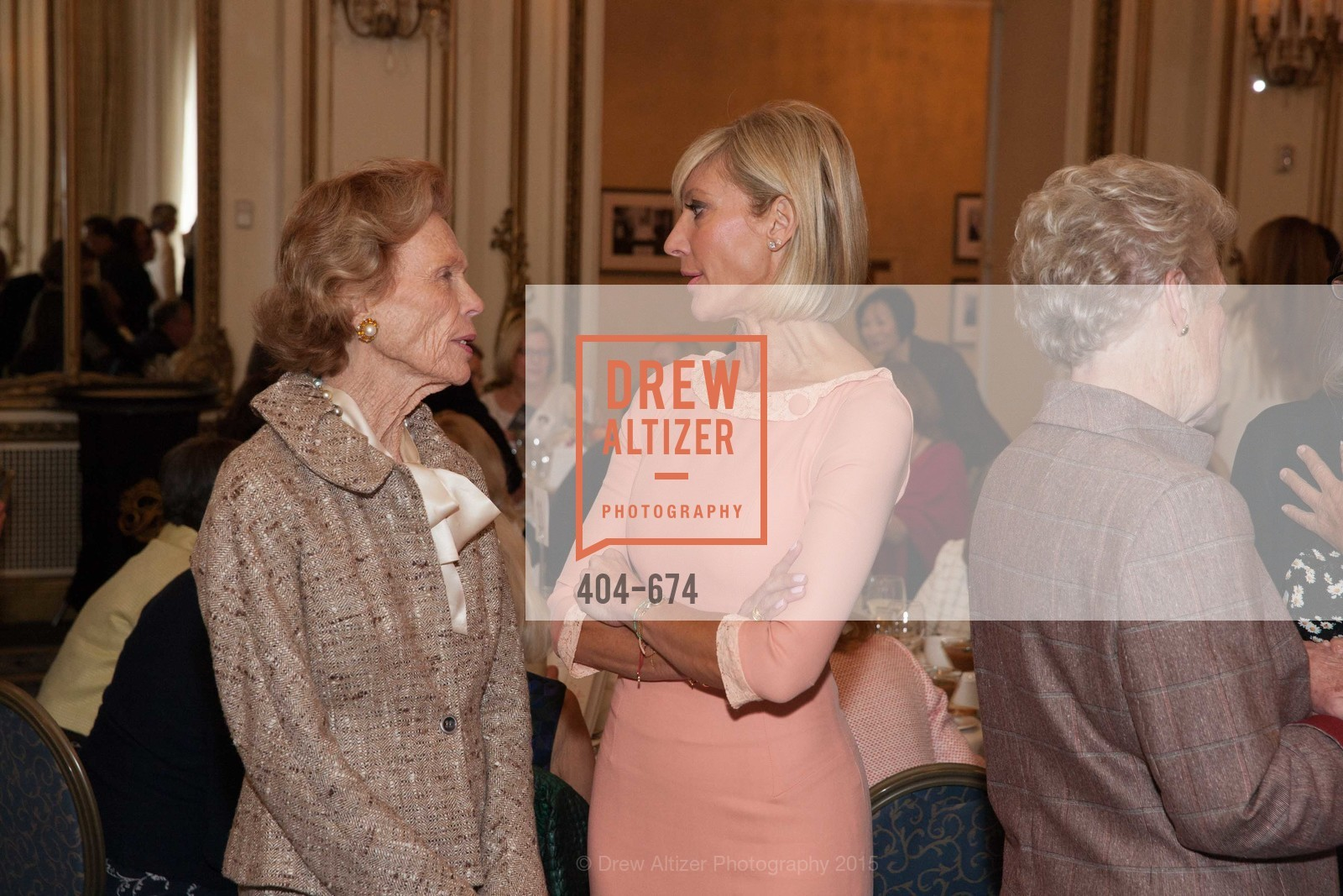 Barbara Callander, Janet Reilly, Junior League of San Francisco's WATCH Luncheon, Fairmont Hotel. 950 Mason Street, May 4th, 2015,Drew Altizer, Drew Altizer Photography, full-service agency, private events, San Francisco photographer, photographer california