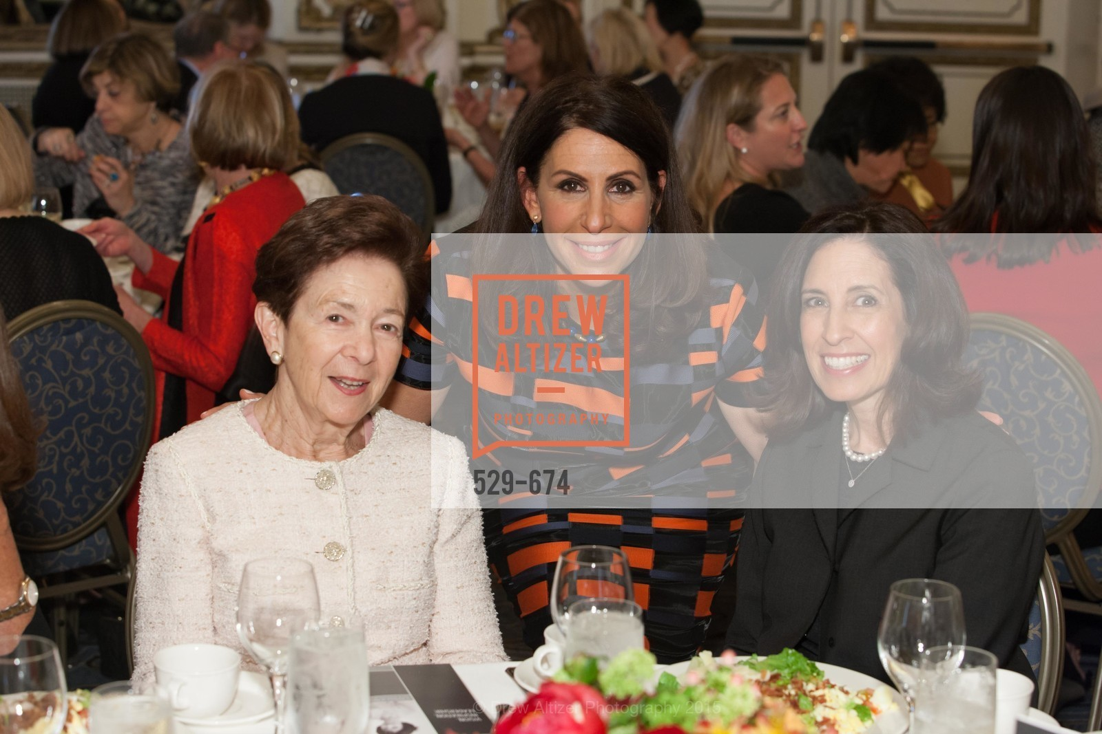 Roselyne Swig, Lisa Grotts, Darian Swig, Junior League of San Francisco's WATCH Luncheon, Fairmont Hotel. 950 Mason Street, May 4th, 2015,Drew Altizer, Drew Altizer Photography, full-service agency, private events, San Francisco photographer, photographer california