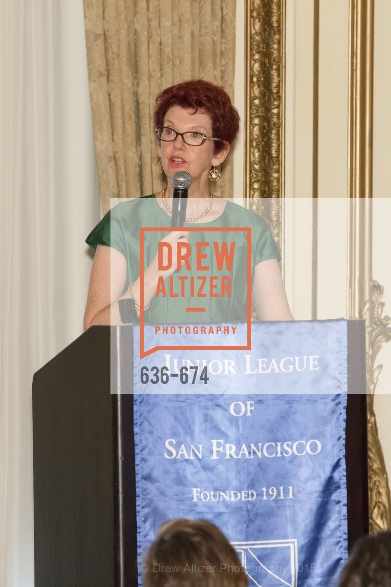 Susan Hoganson, Junior League of San Francisco's WATCH Luncheon, Fairmont Hotel. 950 Mason Street, May 4th, 2015,Drew Altizer, Drew Altizer Photography, full-service agency, private events, San Francisco photographer, photographer california