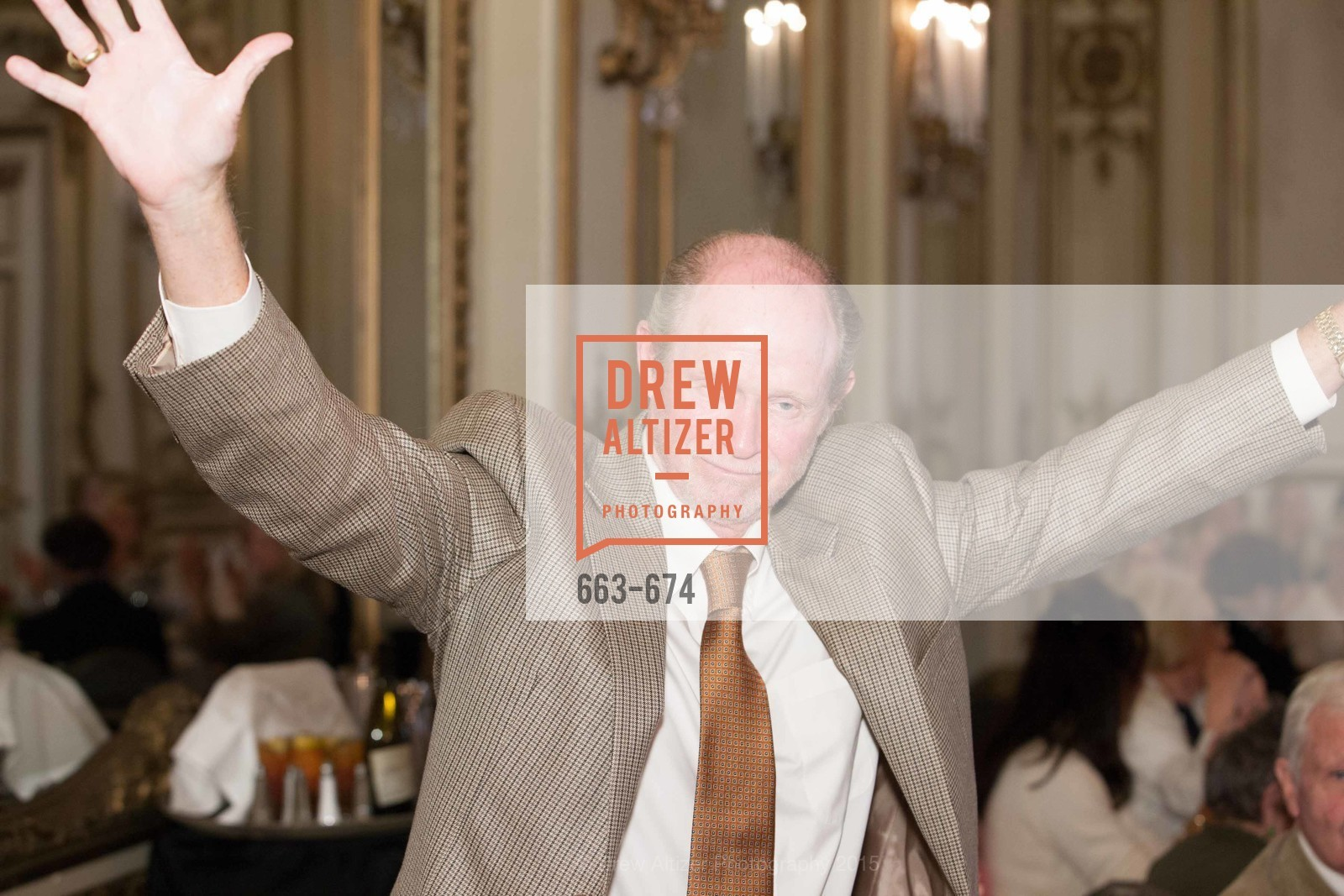 Dick Otstott, Junior League of San Francisco's WATCH Luncheon, Fairmont Hotel. 950 Mason Street, May 4th, 2015,Drew Altizer, Drew Altizer Photography, full-service agency, private events, San Francisco photographer, photographer california