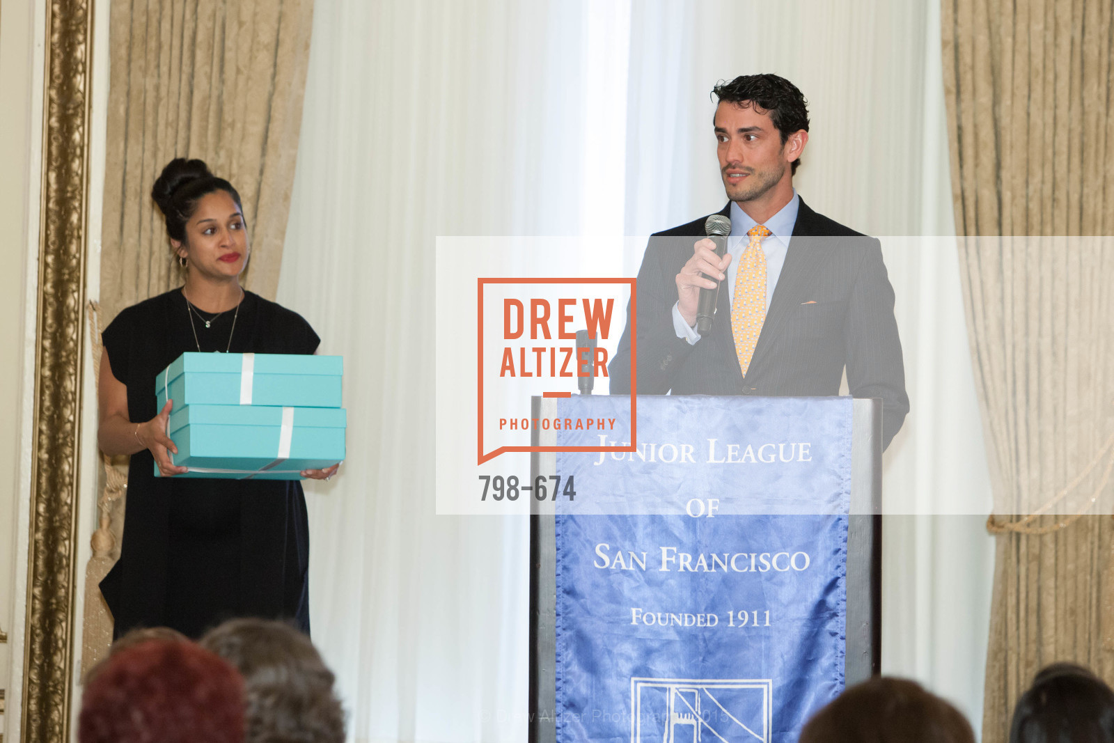 Sonia Mondkar-Floyd, Frederico Soldino, Junior League of San Francisco's WATCH Luncheon, Fairmont Hotel. 950 Mason Street, May 4th, 2015,Drew Altizer, Drew Altizer Photography, full-service agency, private events, San Francisco photographer, photographer california