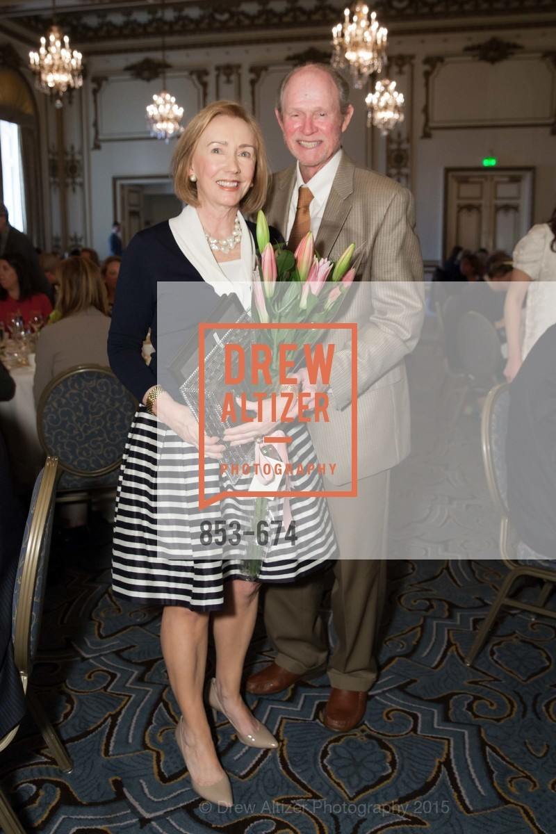 Trish Otstott, Dick Otstott, Junior League of San Francisco's WATCH Luncheon, Fairmont Hotel. 950 Mason Street, May 4th, 2015,Drew Altizer, Drew Altizer Photography, full-service agency, private events, San Francisco photographer, photographer california