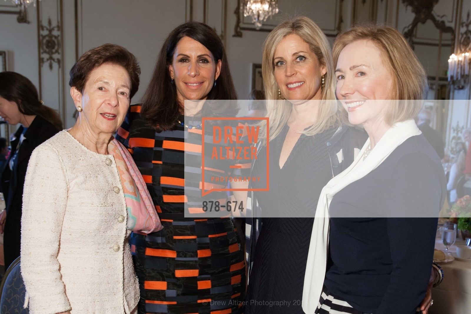 Roselyne Swig, Lisa Grotts, Jane Inch, Trish Otstott, Junior League of San Francisco's WATCH Luncheon, Fairmont Hotel. 950 Mason Street, May 4th, 2015,Drew Altizer, Drew Altizer Photography, full-service agency, private events, San Francisco photographer, photographer california