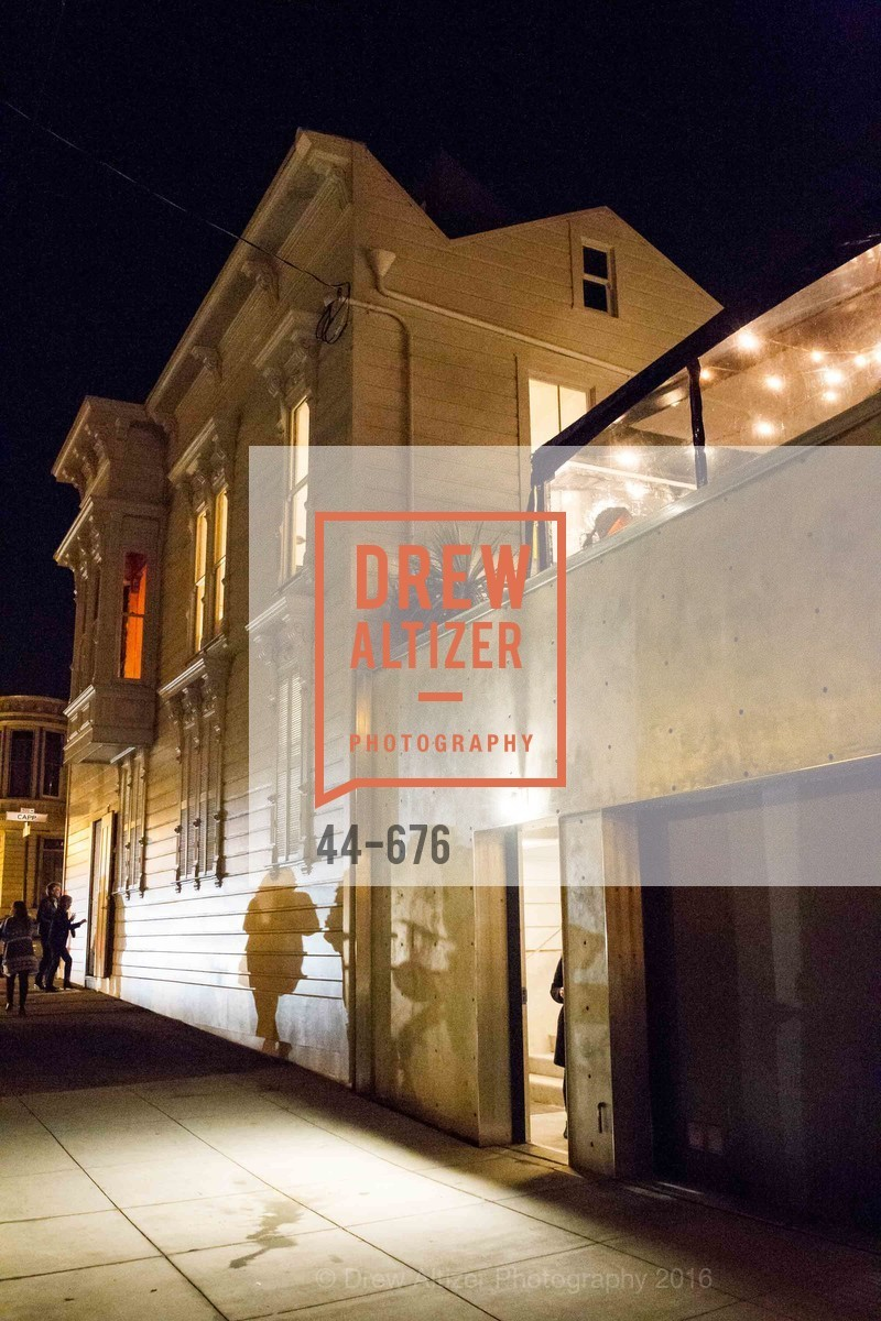 Atmosphere, 500 Capp Street Preview Reception, 500 Capp Street Foundation. 500 Capp Street, January 7th, 2016,Drew Altizer, Drew Altizer Photography, full-service event agency, private events, San Francisco photographer, photographer California