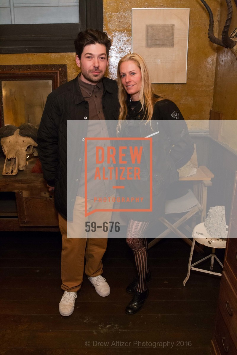 Andrew Mcclintock, Rebecca Goldfarb, 500 Capp Street Preview Reception, 500 Capp Street Foundation. 500 Capp Street, January 7th, 2016,Drew Altizer, Drew Altizer Photography, full-service event agency, private events, San Francisco photographer, photographer California