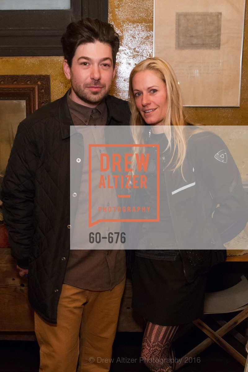 Andrew Mcclintock, Rebecca Goldfarb, 500 Capp Street Preview Reception, 500 Capp Street Foundation. 500 Capp Street, January 7th, 2016,Drew Altizer, Drew Altizer Photography, full-service agency, private events, San Francisco photographer, photographer california