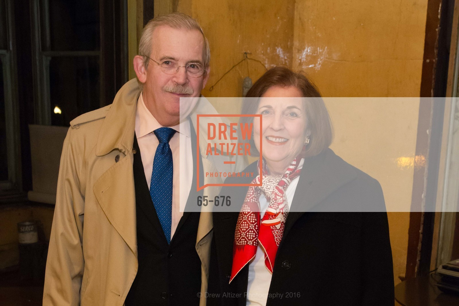 Richard Johns, Eleanor Johns, 500 Capp Street Preview Reception, 500 Capp Street Foundation. 500 Capp Street, January 7th, 2016,Drew Altizer, Drew Altizer Photography, full-service agency, private events, San Francisco photographer, photographer california