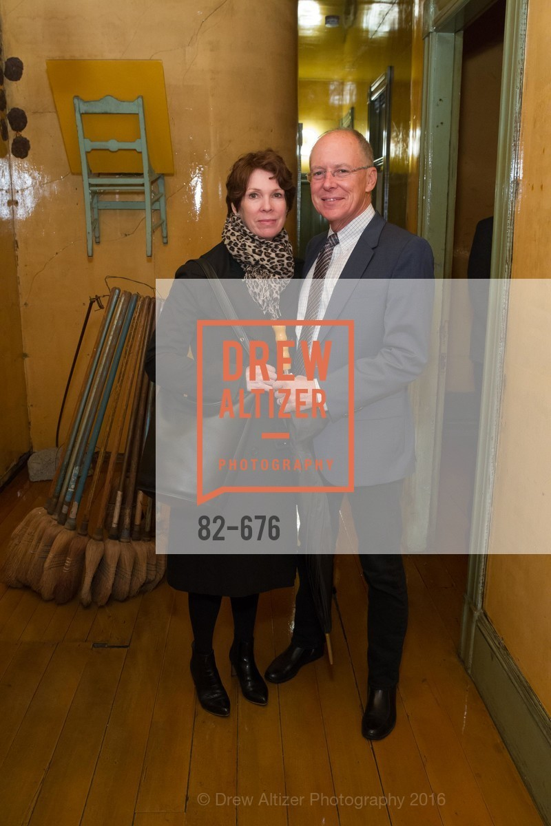 Kitty Morgan, Charles Desmarias, 500 Capp Street Preview Reception, 500 Capp Street Foundation. 500 Capp Street, January 7th, 2016,Drew Altizer, Drew Altizer Photography, full-service agency, private events, San Francisco photographer, photographer california