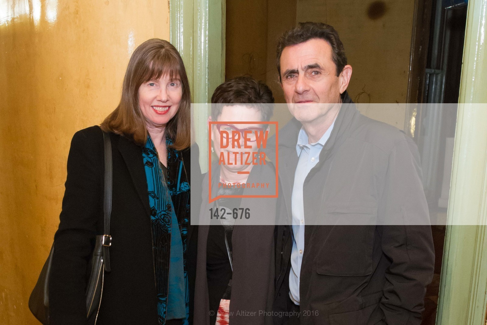 Leslie Berriman, Maria Makela, Neal Benezra, 500 Capp Street Preview Reception, 500 Capp Street Foundation. 500 Capp Street, January 7th, 2016,Drew Altizer, Drew Altizer Photography, full-service agency, private events, San Francisco photographer, photographer california