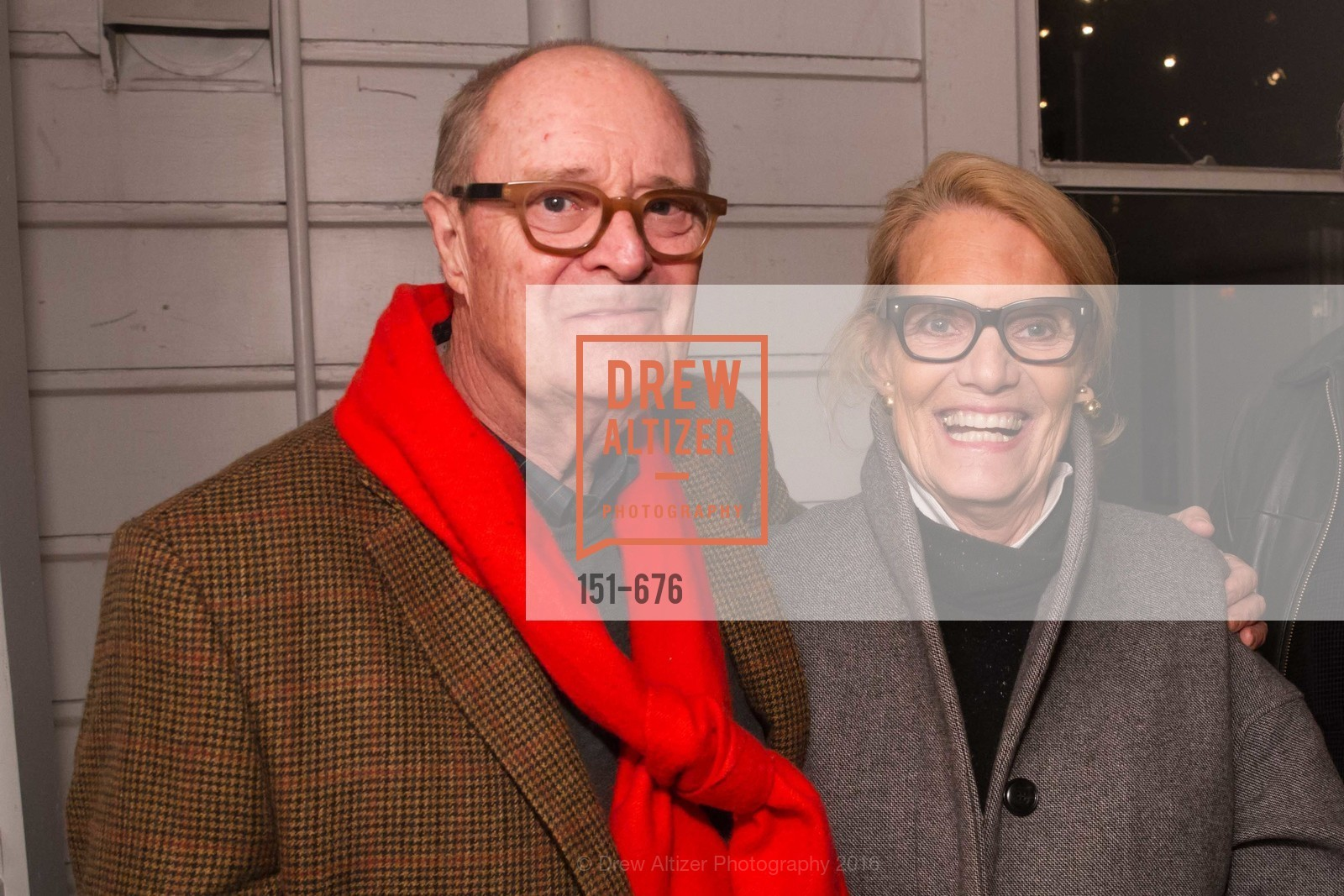 Robert Fisher Peggy Knickerbocker, 500 Capp Street Preview Reception, 500 Capp Street Foundation. 500 Capp Street, January 7th, 2016,Drew Altizer, Drew Altizer Photography, full-service agency, private events, San Francisco photographer, photographer california