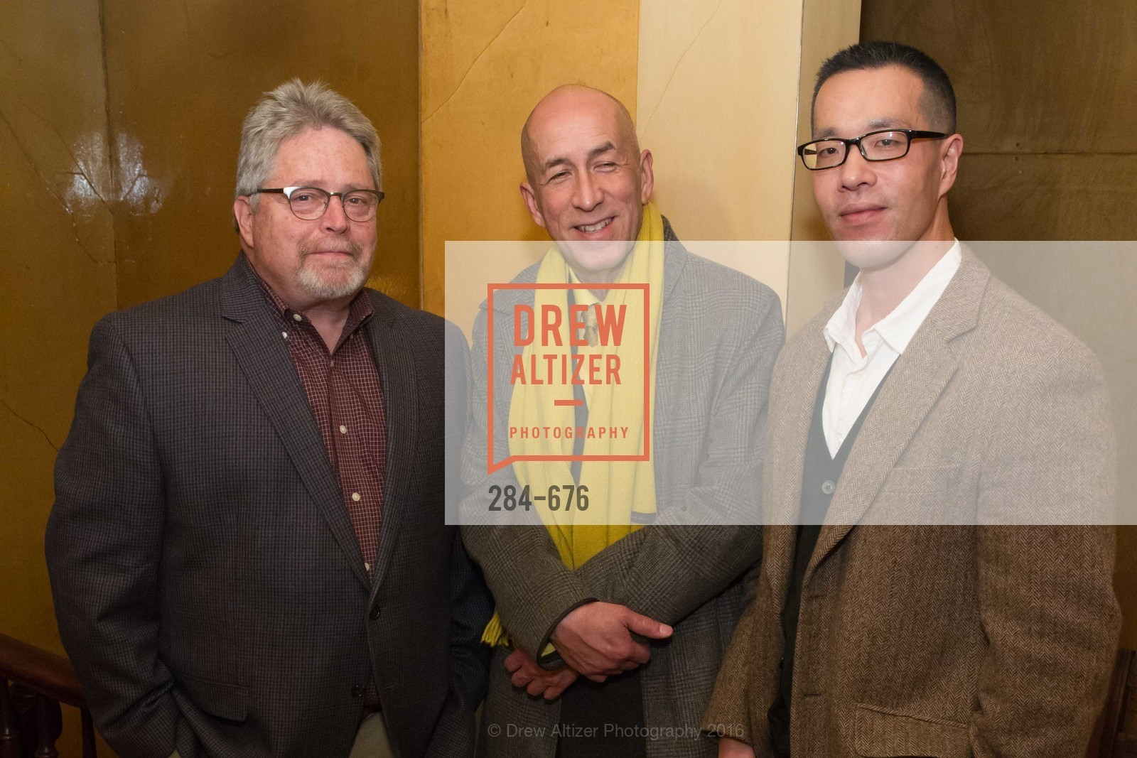 Jeff Kelley, Ed Gilbert, Kern Shin, 500 Capp Street Preview Reception, 500 Capp Street Foundation. 500 Capp Street, January 7th, 2016,Drew Altizer, Drew Altizer Photography, full-service agency, private events, San Francisco photographer, photographer california