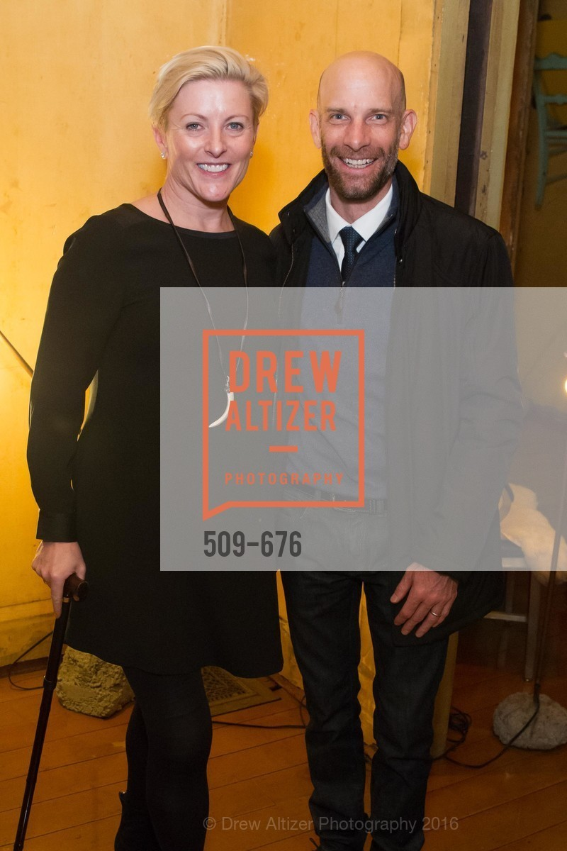 Carlie Wilmans, Dean Orr, 500 Capp Street Preview Reception, 500 Capp Street Foundation. 500 Capp Street, January 7th, 2016,Drew Altizer, Drew Altizer Photography, full-service event agency, private events, San Francisco photographer, photographer California
