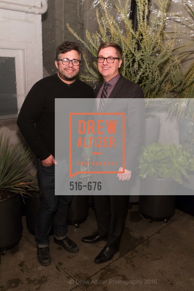 Matthew Goudeau, Tom DeCaigny, 500 Capp Street Preview Reception, 500 Capp Street Foundation. 500 Capp Street, January 7th, 2016,Drew Altizer, Drew Altizer Photography, full-service agency, private events, San Francisco photographer, photographer california