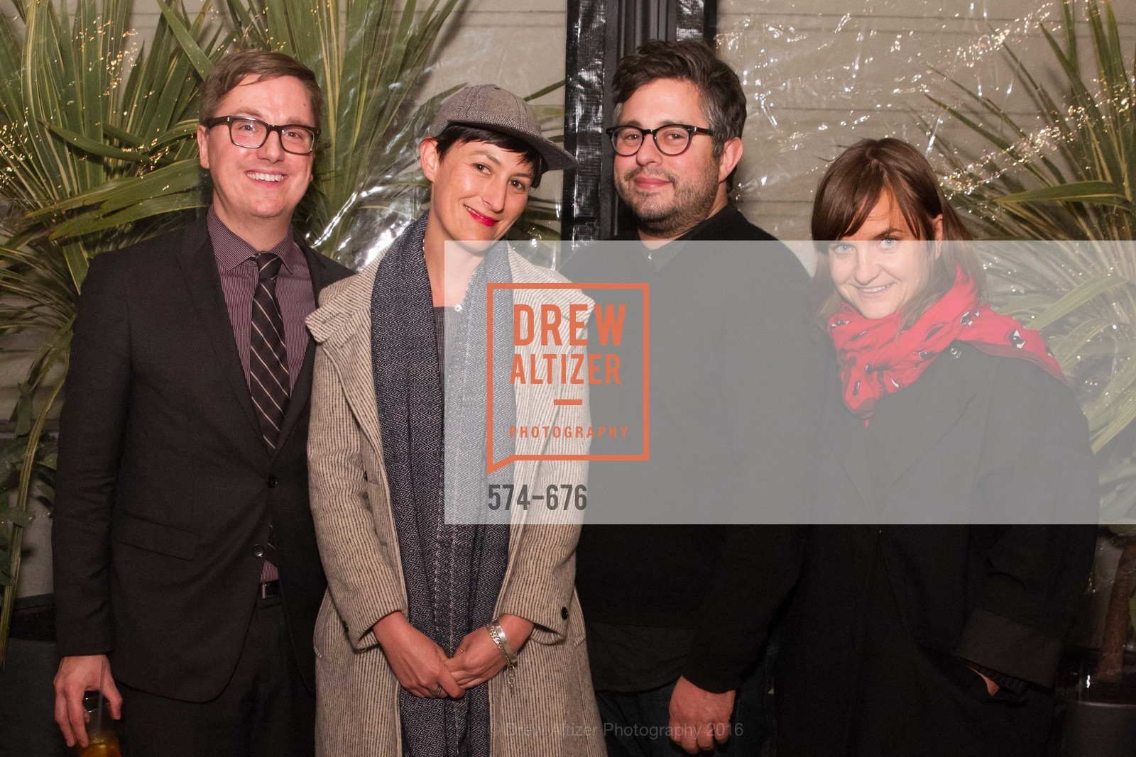 Tom DeCaigny, Brooke Lane, Matthew Goudeau, Evans Hankey, 500 Capp Street Preview Reception, 500 Capp Street Foundation. 500 Capp Street, January 7th, 2016,Drew Altizer, Drew Altizer Photography, full-service agency, private events, San Francisco photographer, photographer california