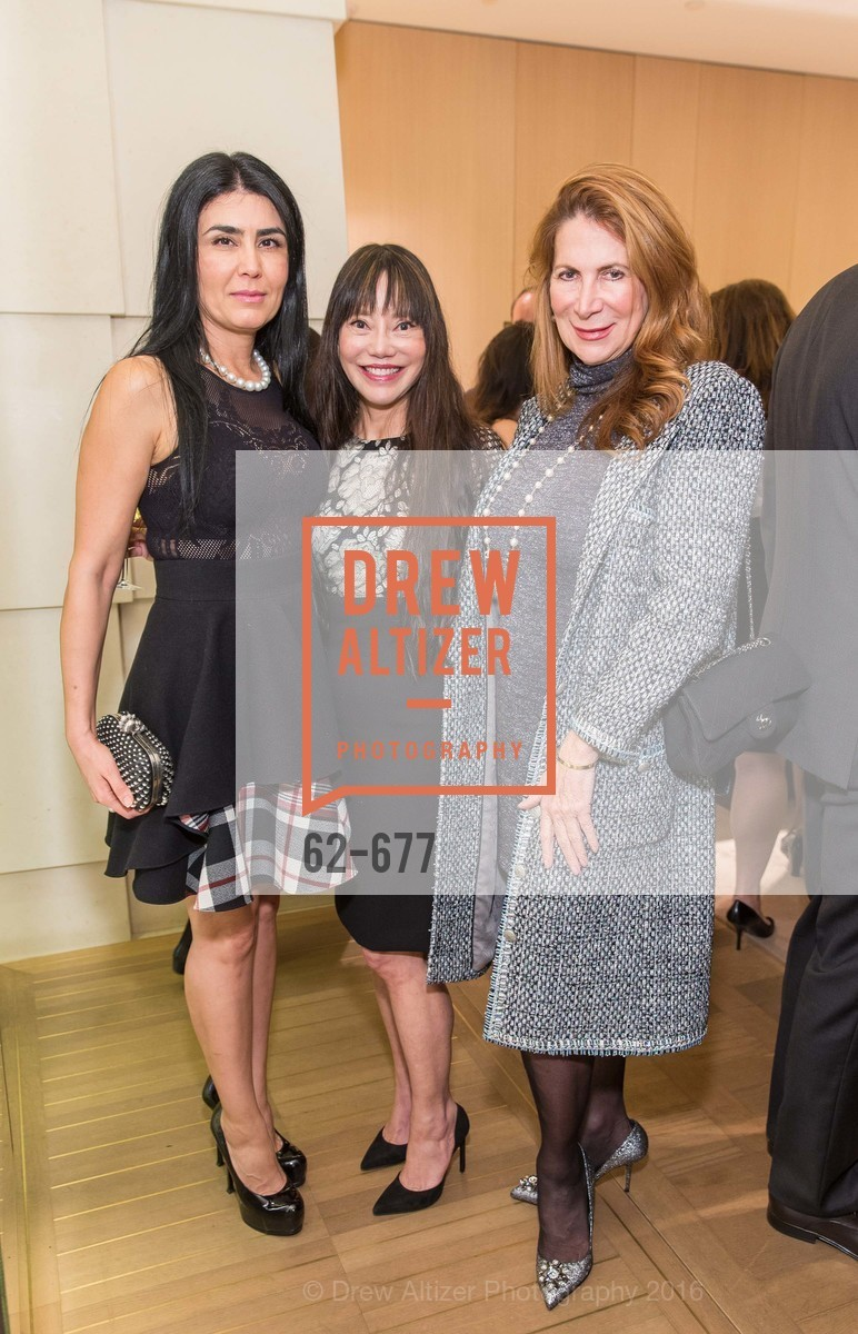 Afsaneh Akhtari, France Szeto, Patricia Ferrin Loucks, Bulgari Hosts The 2016 Ballet Gala Patrons Party, Bulgari. 200 Stockton st, January 7th, 2016,Drew Altizer, Drew Altizer Photography, full-service event agency, private events, San Francisco photographer, photographer California