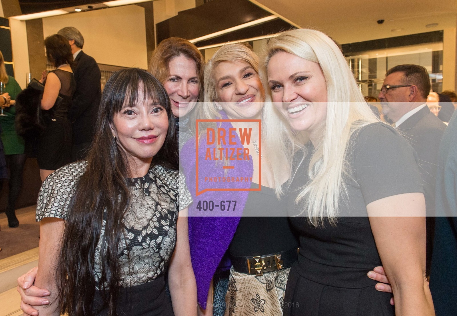 France Szeto, Patricia Ferrin Loucks, Navid Armstrong, Maria Ralph, Bulgari Hosts The 2016 Ballet Gala Patrons Party, Bulgari. 200 Stockton st, January 7th, 2016,Drew Altizer, Drew Altizer Photography, full-service event agency, private events, San Francisco photographer, photographer California