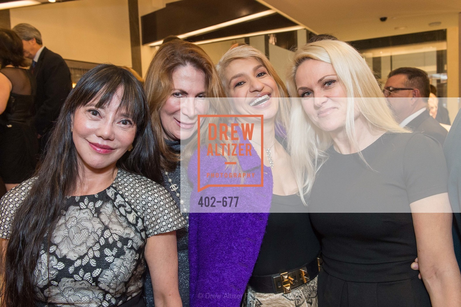 France Szeto, Patricia Ferrin Loucks, Navid Armstrong, Maria Ralph, Bulgari Hosts The 2016 Ballet Gala Patrons Party, Bulgari. 200 Stockton st, January 7th, 2016,Drew Altizer, Drew Altizer Photography, full-service agency, private events, San Francisco photographer, photographer california