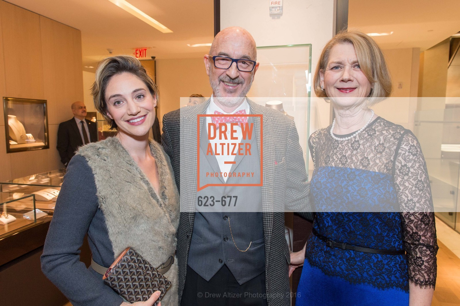 Jennie Golde, Sol Coffino, Kate Coffino, Bulgari Hosts The 2016 Ballet Gala Patrons Party, Bulgari. 200 Stockton st, January 7th, 2016,Drew Altizer, Drew Altizer Photography, full-service agency, private events, San Francisco photographer, photographer california