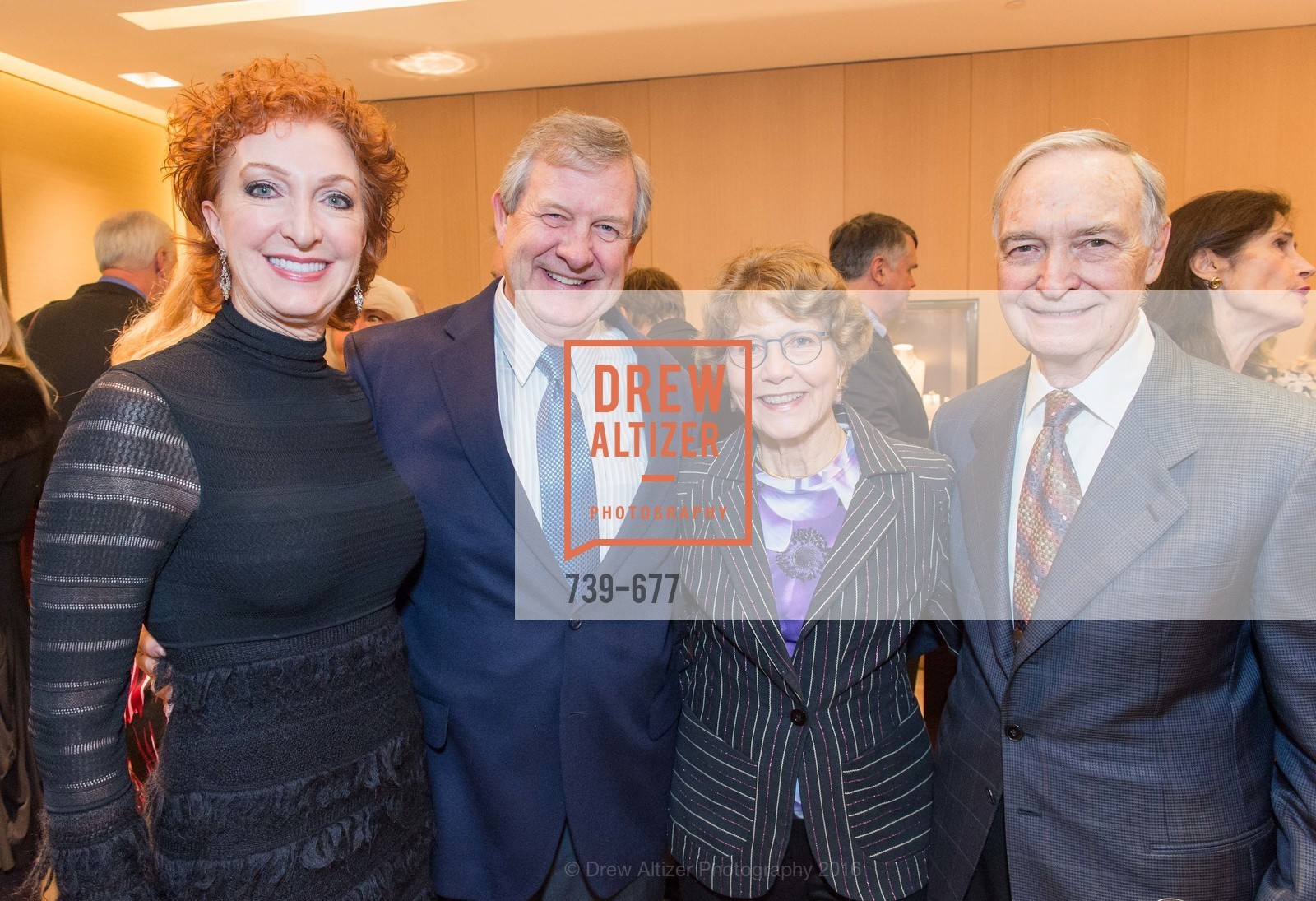 Patricia Roberts, Fred Roberts, Katie Fox, Dave Fox, Bulgari Hosts The 2016 Ballet Gala Patrons Party, Bulgari. 200 Stockton st, January 7th, 2016,Drew Altizer, Drew Altizer Photography, full-service agency, private events, San Francisco photographer, photographer california
