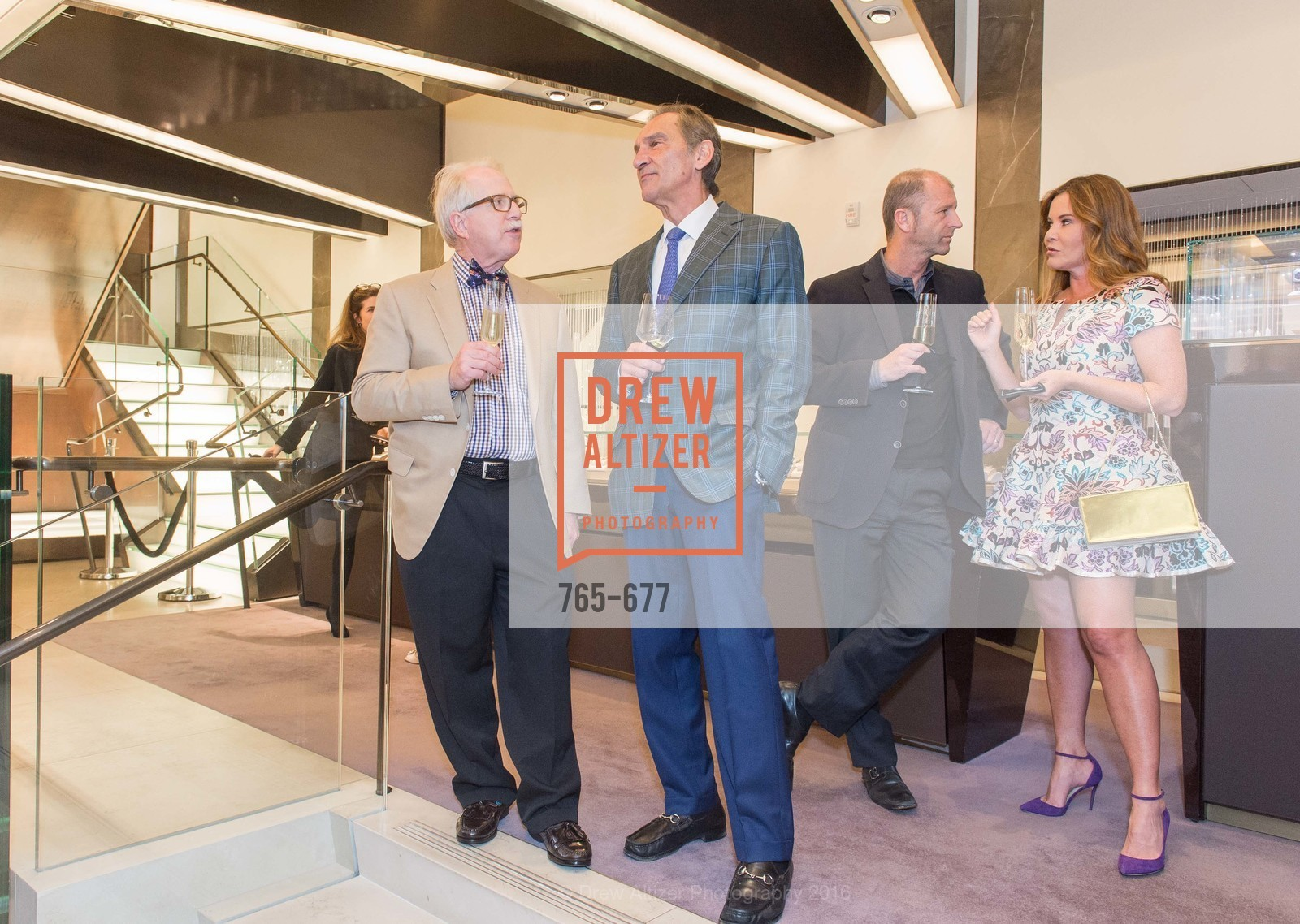 Bob Newman, Mark Kostic, Glyn Davies, Judy Davies, Bulgari Hosts The 2016 Ballet Gala Patrons Party, Bulgari. 200 Stockton st, January 7th, 2016,Drew Altizer, Drew Altizer Photography, full-service agency, private events, San Francisco photographer, photographer california
