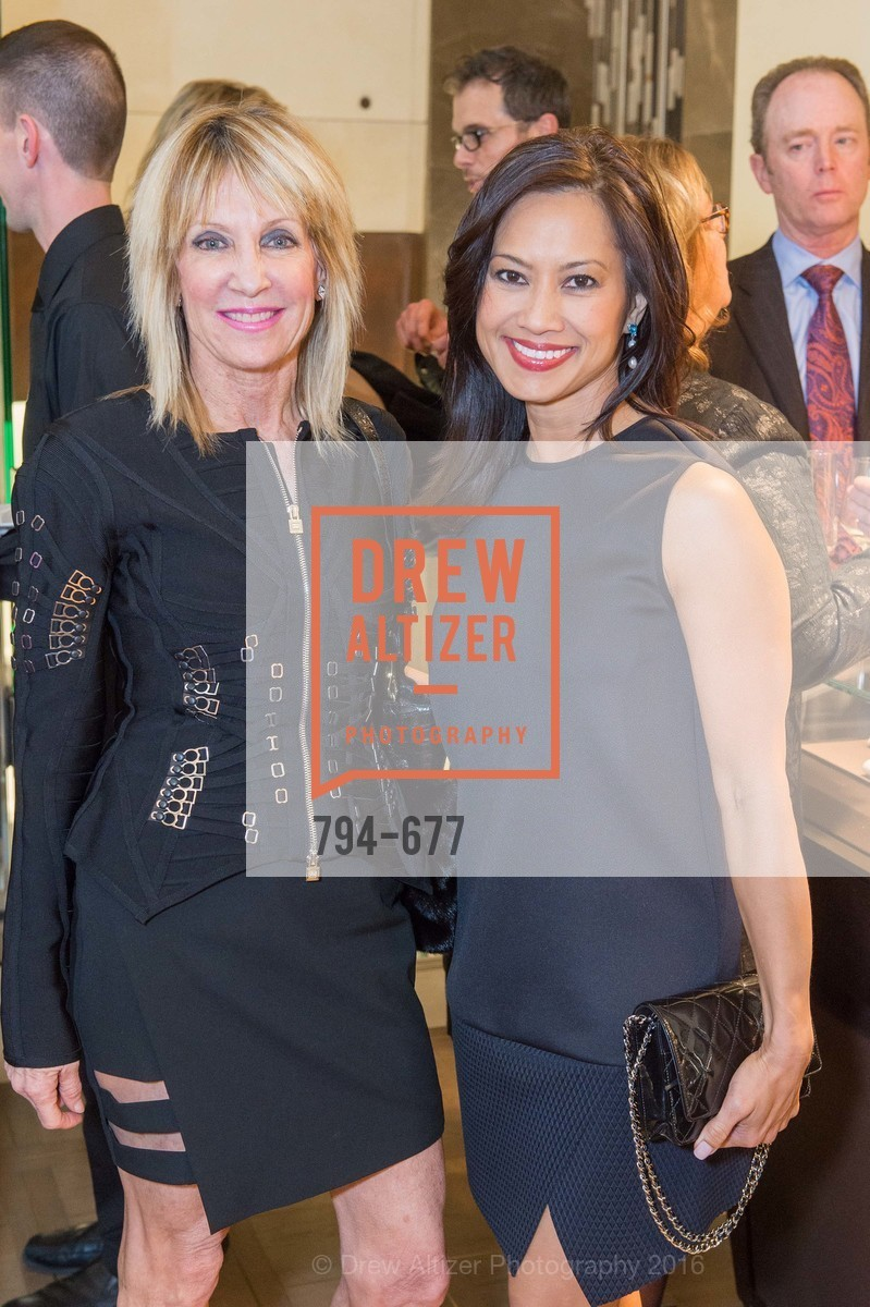 Sandy Mandel, Thuy Vu, Bulgari Hosts The 2016 Ballet Gala Patrons Party, Bulgari. 200 Stockton st, January 7th, 2016,Drew Altizer, Drew Altizer Photography, full-service agency, private events, San Francisco photographer, photographer california