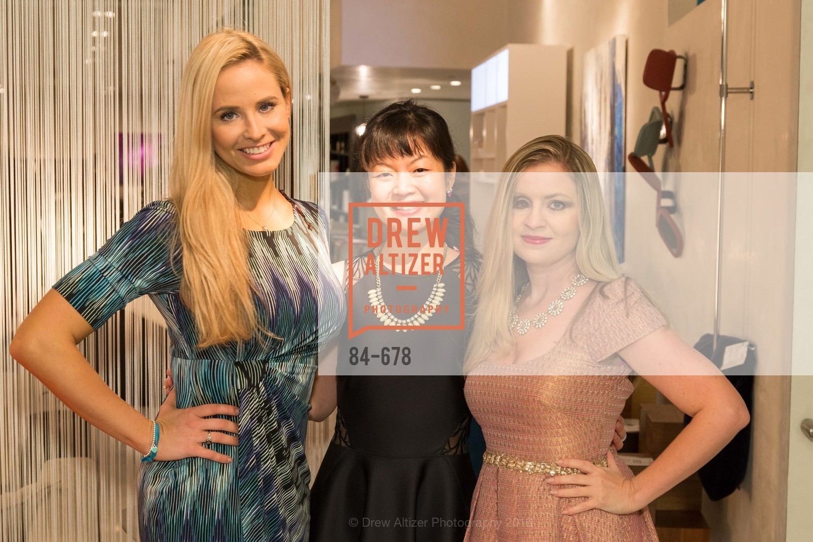 Elizabeth Sgarrella, Susan Lin, Julie Hall, 2016 ENCORE! Launch Party, Ligne Roset. 162 King Street, January 7th, 2016,Drew Altizer, Drew Altizer Photography, full-service agency, private events, San Francisco photographer, photographer california