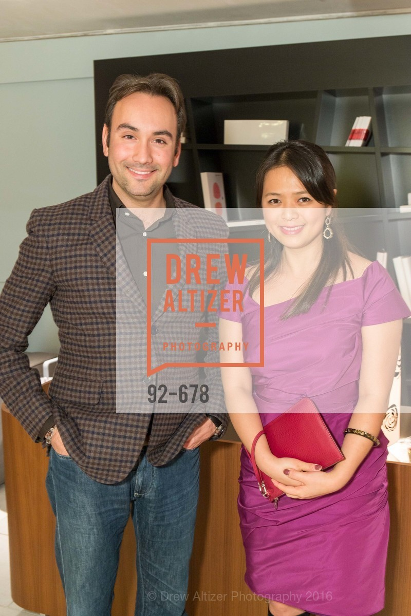 Christopher Correa, Angela Zhang, 2016 ENCORE! Launch Party, Ligne Roset. 162 King Street, January 7th, 2016,Drew Altizer, Drew Altizer Photography, full-service agency, private events, San Francisco photographer, photographer california