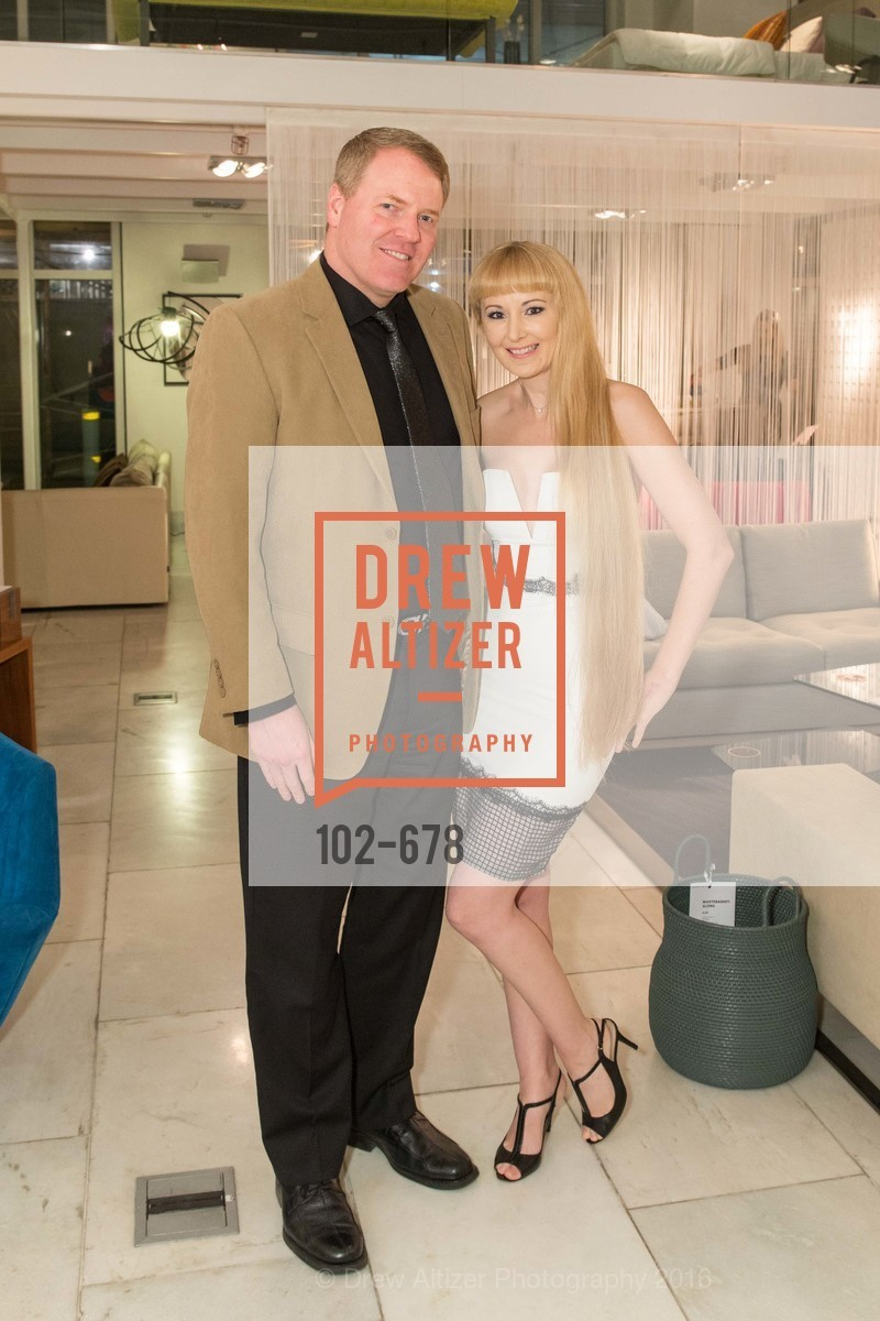 Matthew Verkler, Shannyn Bessoni, 2016 ENCORE! Launch Party, Ligne Roset. 162 King Street, January 7th, 2016,Drew Altizer, Drew Altizer Photography, full-service agency, private events, San Francisco photographer, photographer california