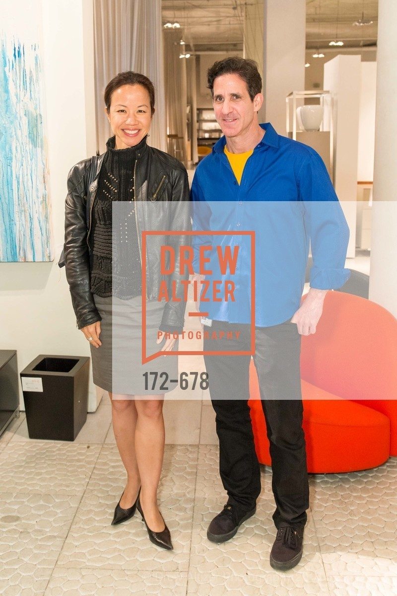 Amy Hsieh, Adam Thaler, 2016 ENCORE! Launch Party, Ligne Roset. 162 King Street, January 7th, 2016,Drew Altizer, Drew Altizer Photography, full-service agency, private events, San Francisco photographer, photographer california