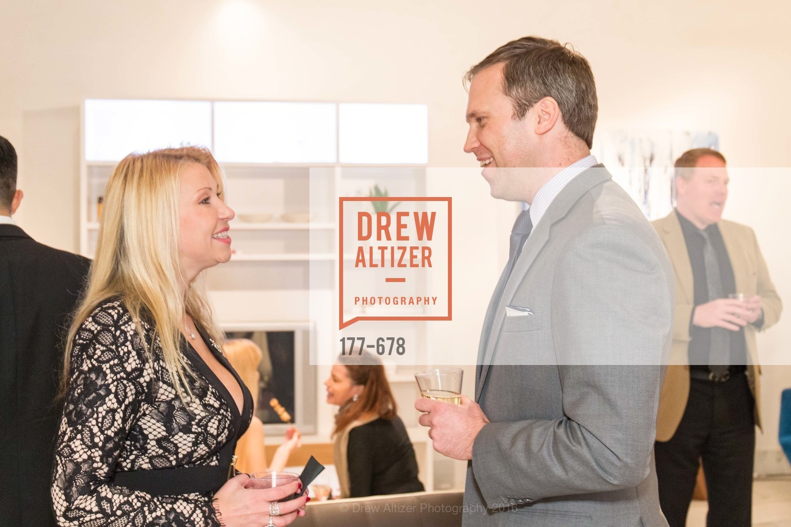Lena Gikkas, Martin Andersons, 2016 ENCORE! Launch Party, Ligne Roset. 162 King Street, January 7th, 2016,Drew Altizer, Drew Altizer Photography, full-service event agency, private events, San Francisco photographer, photographer California