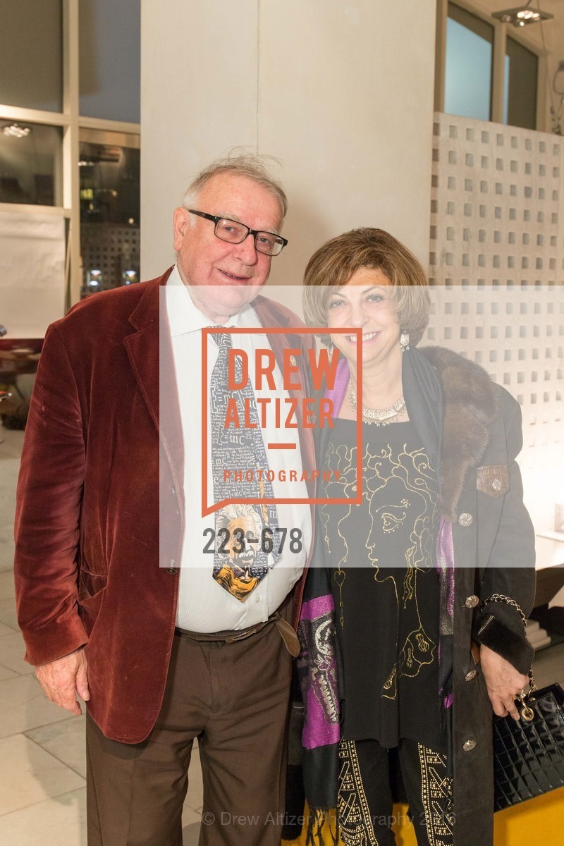 Peter Eggleton, Ludmila Eggleton, 2016 ENCORE! Launch Party, Ligne Roset. 162 King Street, January 7th, 2016,Drew Altizer, Drew Altizer Photography, full-service agency, private events, San Francisco photographer, photographer california