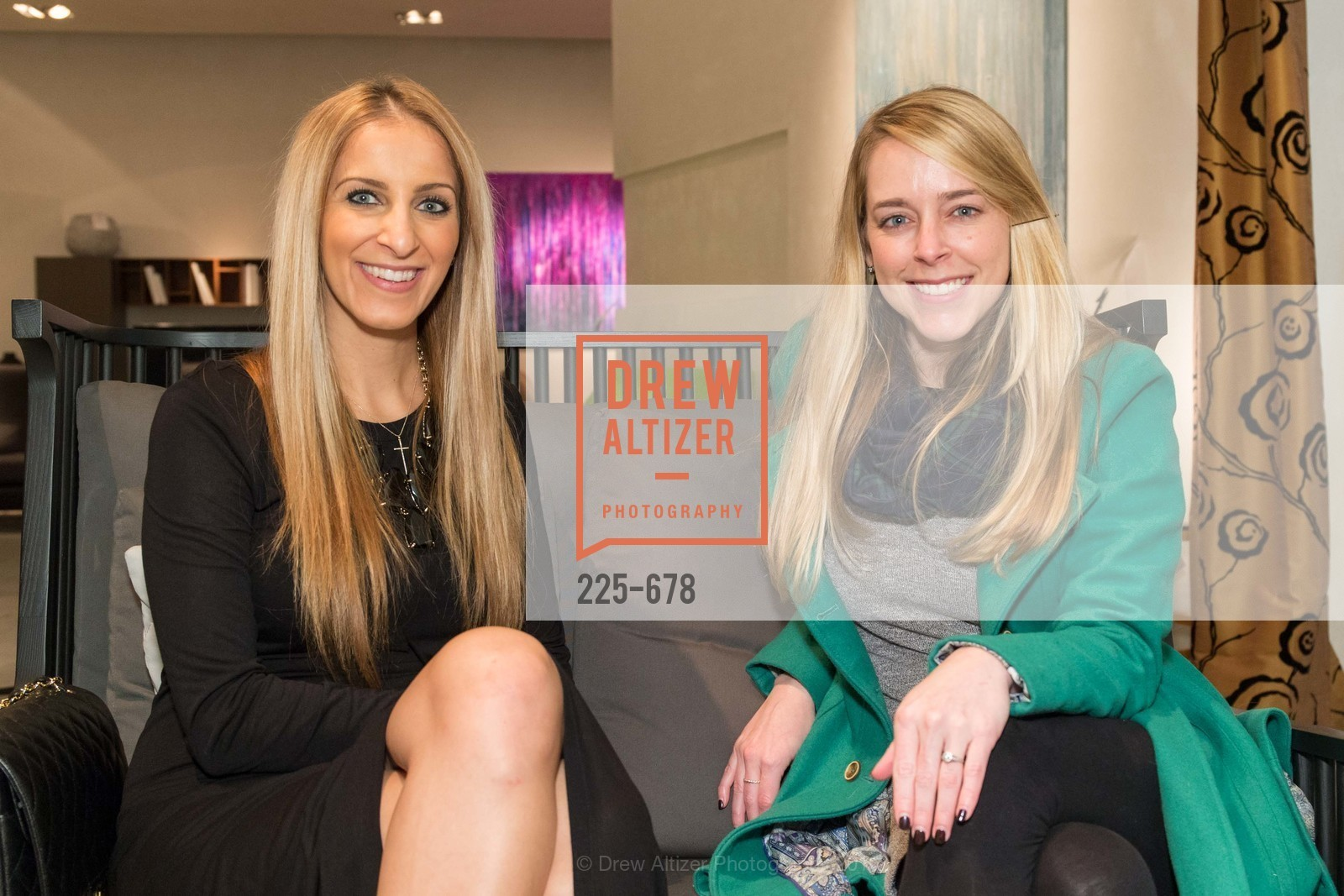 Victoria Gazulis, Colleen Pettit, 2016 ENCORE! Launch Party, Ligne Roset. 162 King Street, January 7th, 2016,Drew Altizer, Drew Altizer Photography, full-service agency, private events, San Francisco photographer, photographer california