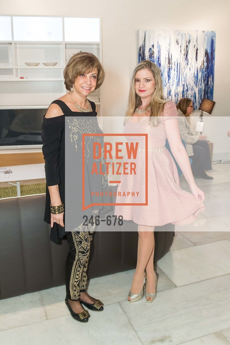 Ludmila Eggleton, Julie Hall, 2016 ENCORE! Launch Party, Ligne Roset. 162 King Street, January 7th, 2016,Drew Altizer, Drew Altizer Photography, full-service event agency, private events, San Francisco photographer, photographer California