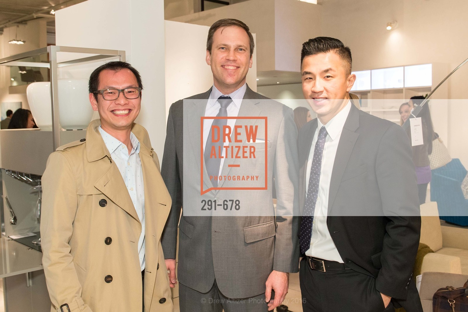 Mike Huynh, Martin Andersons, Tony Yu, 2016 ENCORE! Launch Party, Ligne Roset. 162 King Street, January 7th, 2016,Drew Altizer, Drew Altizer Photography, full-service agency, private events, San Francisco photographer, photographer california