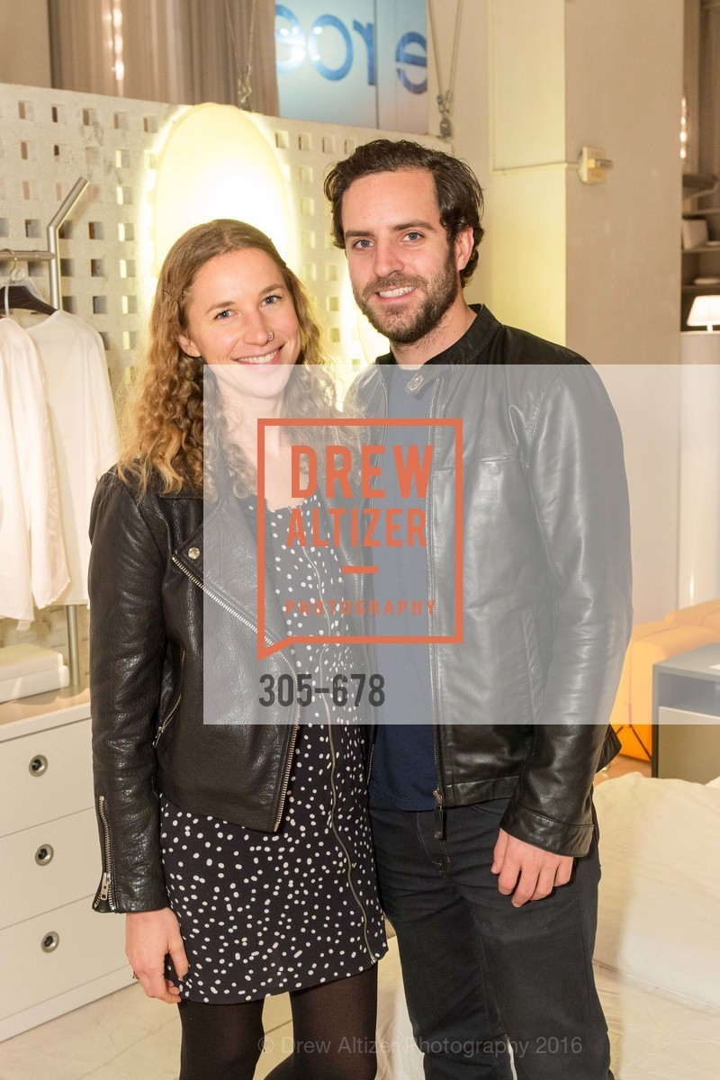 Jennifer Anderson, Mark Watson, 2016 ENCORE! Launch Party, Ligne Roset. 162 King Street, January 7th, 2016,Drew Altizer, Drew Altizer Photography, full-service agency, private events, San Francisco photographer, photographer california
