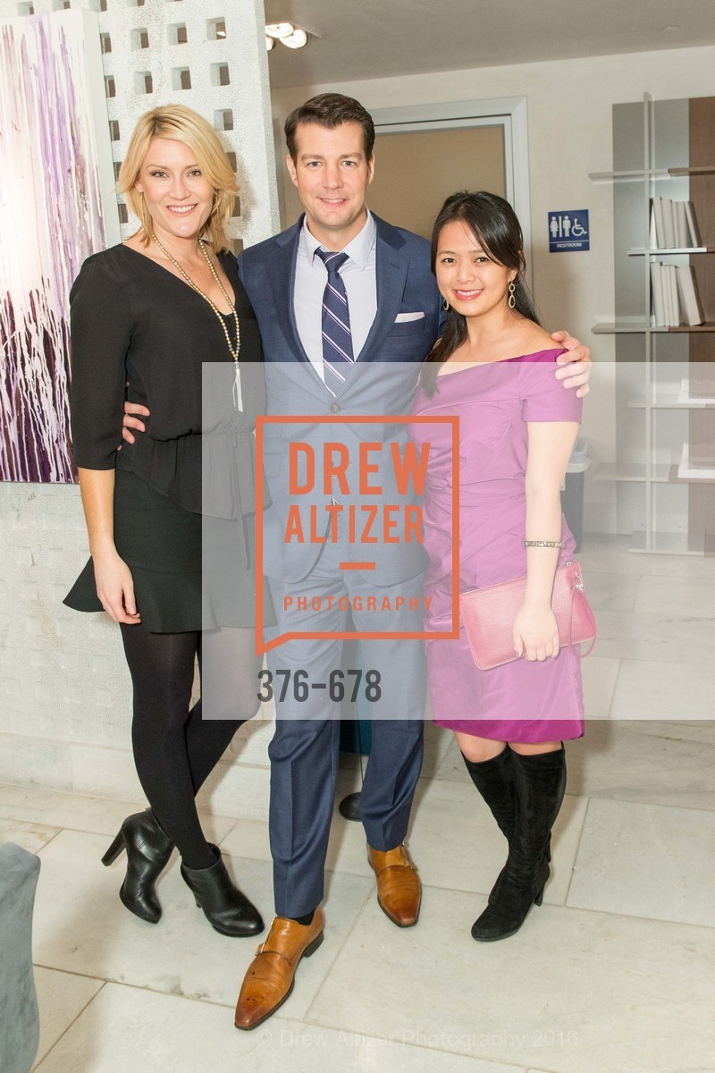 Sarah Eckersley, Matt Whall, Angela Zhang, 2016 ENCORE! Launch Party, Ligne Roset. 162 King Street, January 7th, 2016,Drew Altizer, Drew Altizer Photography, full-service agency, private events, San Francisco photographer, photographer california