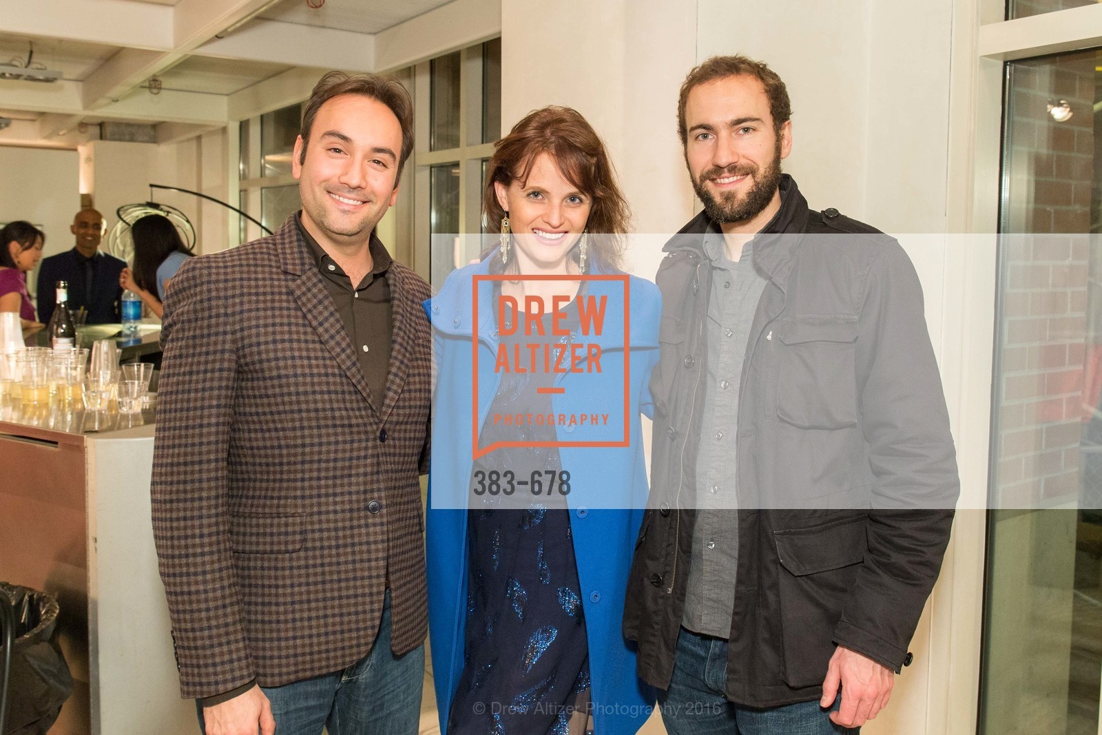 Christopher Correa, Alyson Blume, Michael Burnett, 2016 ENCORE! Launch Party, Ligne Roset. 162 King Street, January 7th, 2016,Drew Altizer, Drew Altizer Photography, full-service agency, private events, San Francisco photographer, photographer california
