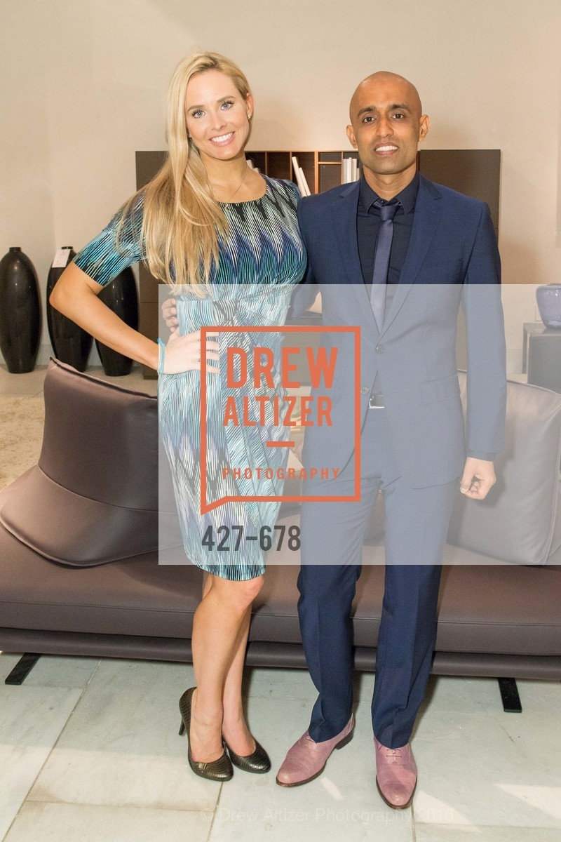 Elizabeth Sgarrella, Sunil Sharma, 2016 ENCORE! Launch Party, Ligne Roset. 162 King Street, January 7th, 2016,Drew Altizer, Drew Altizer Photography, full-service event agency, private events, San Francisco photographer, photographer California