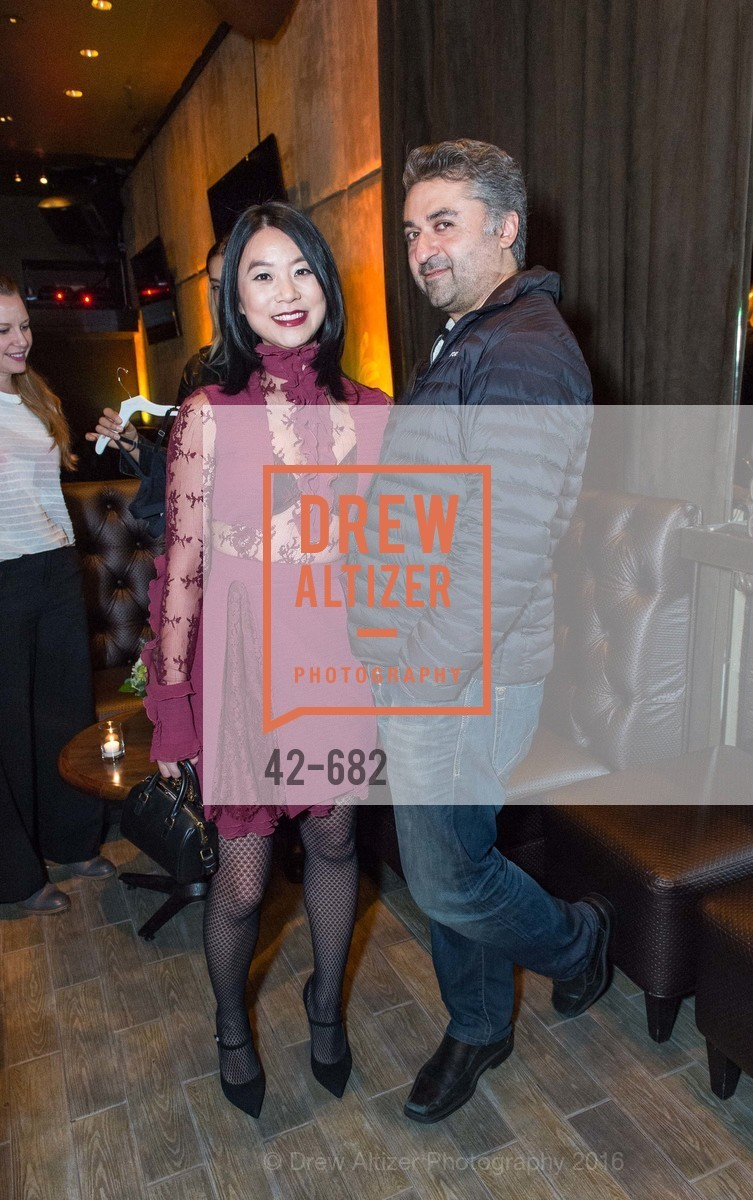 Michelle Lam, Hooman Khalili, Michelle Lam hosts the launch of True&Co.'s Try-on Truck National Tour, MatrixFillmore. 3138 Fillmore, January 12th, 2016
